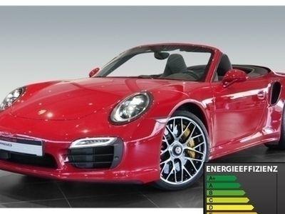 käytetty Porsche 911 Turbo S Cabriolet 991 3.8 Burmester PDLS+ LED