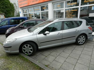 gebraucht Peugeot 407 SW 2,3 Panorama D4 Klima kein TÜV