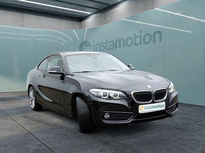gebraucht BMW 230 230 iA Coupe Sport NAVI+LED+eGSD+KAM+SHZ+KEYLESS