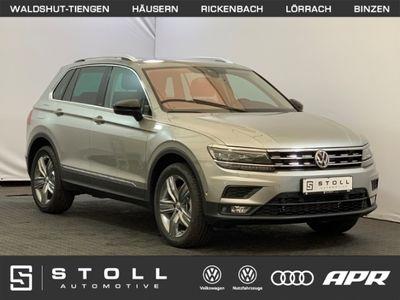 gebraucht VW Tiguan 2.0 TDI 4Motion DSG IQ.DRIVE ActiveInfo+Navi+Panorama+ACC+SitzHZG+Keyless+++
