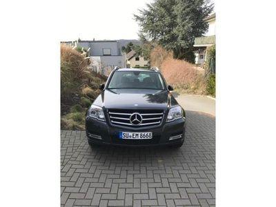 gebraucht Mercedes GLK220 CDI 4Matic (BlueEFFICIENCY) Navi // 8fach bereift