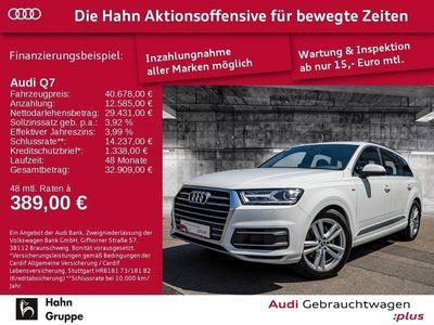 gebraucht Audi Q7 3.0TDI qua Tiptrc S-line EU6 Luft Navi GRA