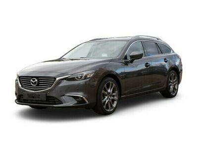 gebraucht Mazda 6 Kombi SPORTS-LINE 2.2CD AUTOMATIK *AWD* +LEDER