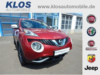 gebraucht Nissan Juke N-Connecta 1.2 DIG-T KLIMAAUTO SITZHEIZUNG AHK