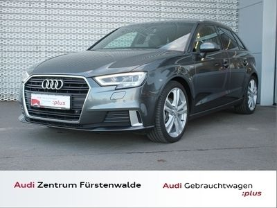 gebraucht Audi A3 Sportback 30 TDI Stronic sport S Line LED NAVI