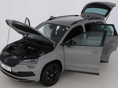 gebraucht Skoda Karoq SPORTLINE 1.5TSI LED|NAVI|SHZ | Neuwagen | Geländewagen/SUV | SDH060445