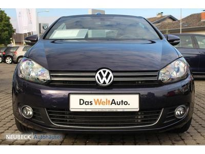 gebraucht VW Golf Cabriolet VI 1.6 TDI CUP Klima Parkpilot