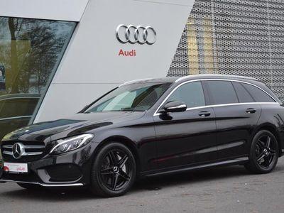 gebraucht Mercedes C250 d T Automatik AMG Line BlueTEC AHK LED Klima
