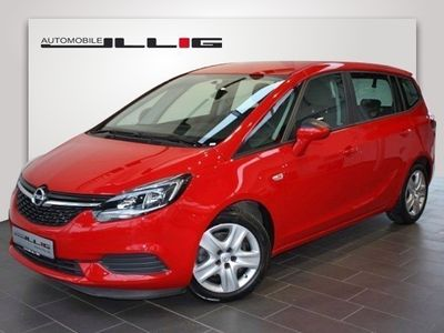 gebraucht Opel Zafira 1.4 Turbo Edition Klima Einparkhilfe