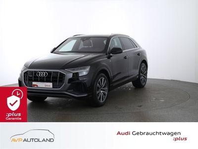 gebraucht Audi Q8 50 TDI quattro tiptr. S line |Pano|MATRIX schwarz