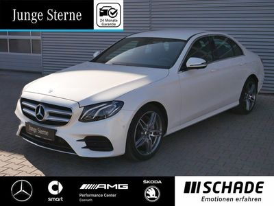 gebraucht Mercedes E220 AMG 360°Kamera*Spiegel-P*Business-P*LED* AMG Lin
