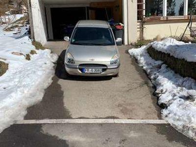 gebraucht Daihatsu Sirion Automatik 1,0 Liter als Kleinwagen in Feldberg