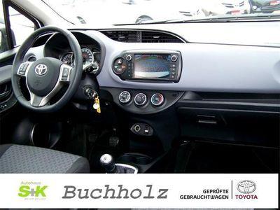 gebraucht Toyota Yaris 1.0 VVT-i Comfort Alu Nebel