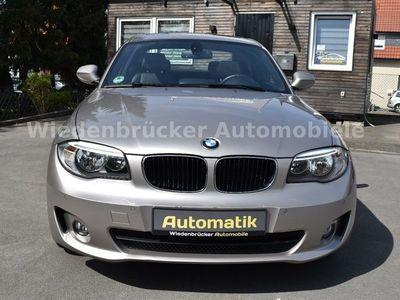 gebraucht BMW 118 Coupé Baureihe 1 Coupe d*Leder*Kayless*Navi als Sportwagen/ in Rheda-Wiedenbrück