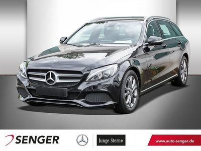 gebraucht Mercedes C180 T AVANTGARDE+LED+AUTOM.+NAVI+SHZ+TEMPOMAT