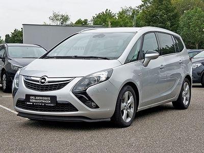 gebraucht Opel Zafira Tourer C Innovation 2.0 CDTI Leder Navi Dyn. Kurvenlicht Rückfahrkam. Fernlichtass.