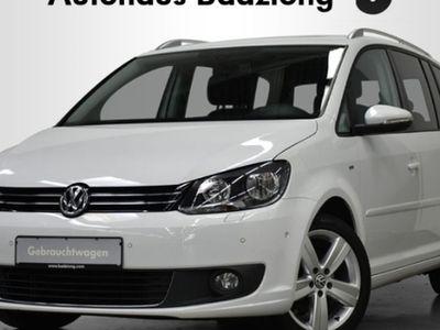 gebraucht VW Touran CUP 1.6 TDI 7-Sitzer Panodach SHZ PDC Klima