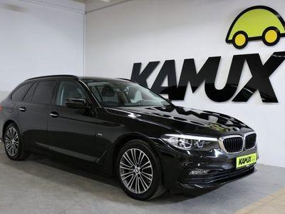 gebraucht BMW 520 d Touring G Aut. EU6 Sport Line +LED +Navigation +Teil-Leder