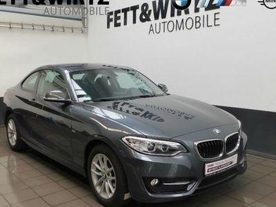 gebraucht BMW 218 d Coupé 17''LM XENON PDC Navigation Sitzhzg