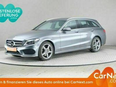 gebraucht Mercedes C220 d 4Mati T 9G-TRONI, AMG Line