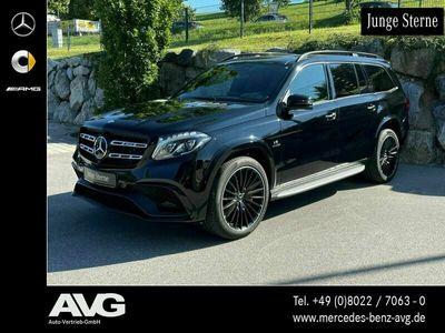 gebraucht Mercedes GLS63 AMG Mercedes-AMG GLS 63 4M DIST/PANO/H&K®/AHK/AIR/22
