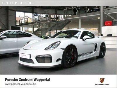gebraucht Porsche Cayman GT4 Clubsportpaket PCM Navigation