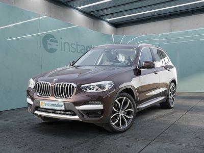 gebraucht BMW X3 X3xDrive 20dA X-Line LEDER+NAVI+HUD+KURVENLICHT