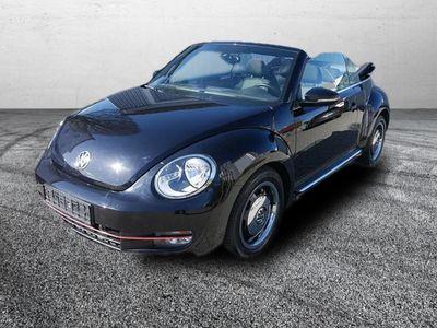 gebraucht VW Beetle NewCabriolet 1.4 TSI DSG CUP * NAVI * PARKTRONIC * SITZHEIZUNG * TEMPOMAT