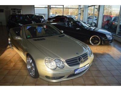 """gebraucht Mercedes SL500 AMG Paket/Designo Lack/Einzelstück/20""""MAE"""