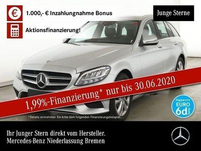 gebraucht Mercedes C200 T d Avantgarde LED Keyl-GO Kamera SpurPak