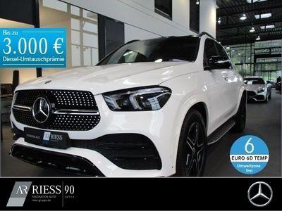 gebraucht Mercedes 300 GLEd 4MATIC AMG+Burmester+Fahrassist.