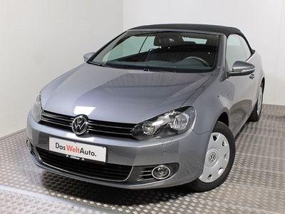 gebraucht VW Golf Cabriolet 1.6 TDI LOUNGE +Navi+LM+Clima