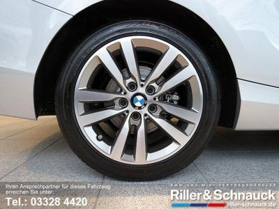 gebraucht BMW 218 dA Cabrio Advantage NAVI HiFi LEDER XENON