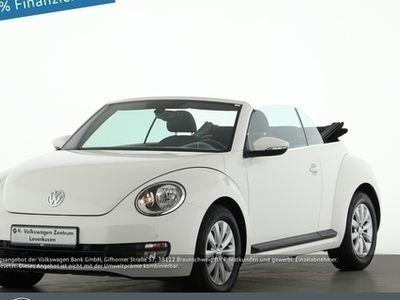 usado VW Beetle Cabriolet 1.2 TSI PDC KLIMAAUTOMATIK - Klima,Alu,Servo,