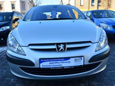 gebraucht Peugeot 307 HDi SW Klimaautomatik Euro4