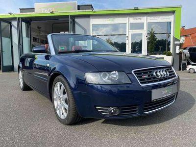 gebraucht Audi A4 Cabriolet 3.0 (8H)-S-Line -Klimaautomatik-Leder-