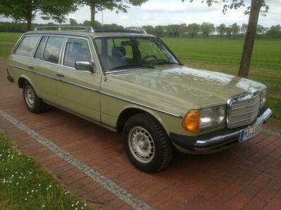 gebraucht Mercedes 240 TD Kombi W123 H-Kennzeichen TÜV