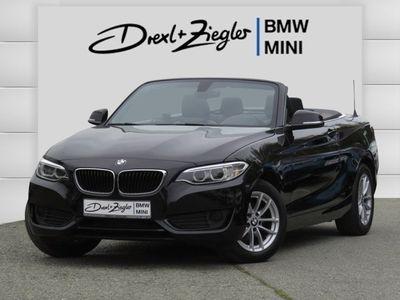 gebraucht BMW 218 i Cabrio Leder Navi Xenon HiFi Open-Air PDC