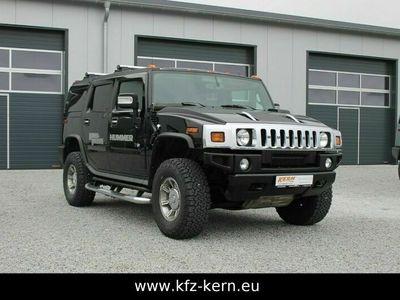 gebraucht Hummer H2 6.0 V8 Luxury, Gasanlage, Allrad, AHK, 1.HAND als SUV/Geländewagen/Pickup in Jandelsbrunn