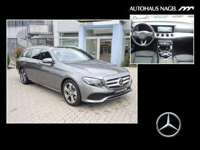 gebraucht Mercedes E220 T Avantgarde Burmester Panorama