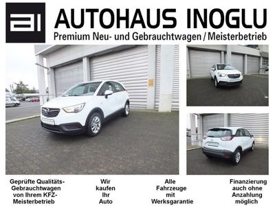gebraucht Opel Crossland X 1.2 Edition Klima Spurh.Verkehrs.4.0 IntelliLink P