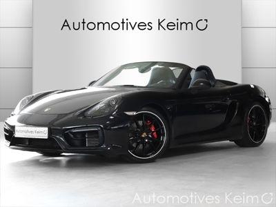 gebraucht Porsche Boxster GTS SPORTABGAS SCP PCM SH TEMP PA KLIMAA