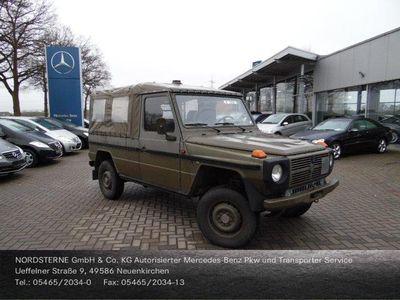 gebraucht Mercedes G230 Steyr Puch lang Automatik Sitzbänke G-KAT