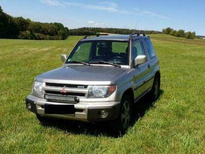 gebraucht Mitsubishi Allrad Pajero Pinin GeländewagenJagdauto