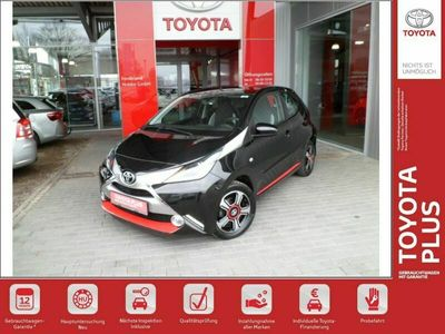 gebraucht Toyota Aygo x-clusiv *Klimaautomatik+Navi+LM-Felgen