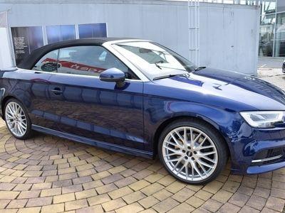gebraucht Audi S3 Cabriolet 2.0 TFSI quattro S tronic Matrix schwarz