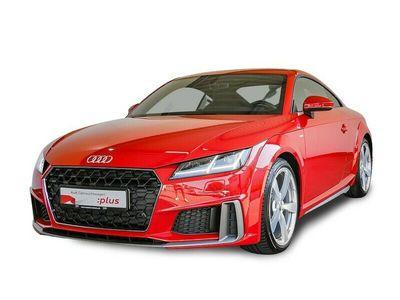 "gebraucht Audi TT TTCoupe 2.0 TFSI S-line VIRT+LED+19""+NAVI+DAB+"