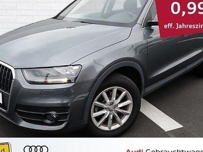 gebraucht Audi Q3 2.0 TDI quattro S tronic MMI Navigation, AHK,