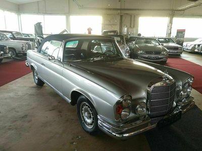 gebraucht Mercedes W111 280280 SE, Werkscabriolet, Deutsches Fah...