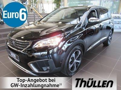 gebraucht Peugeot 5008 CROSSWAY BLUEHDI 180 EAT8, 7-SITZER Bluetooth